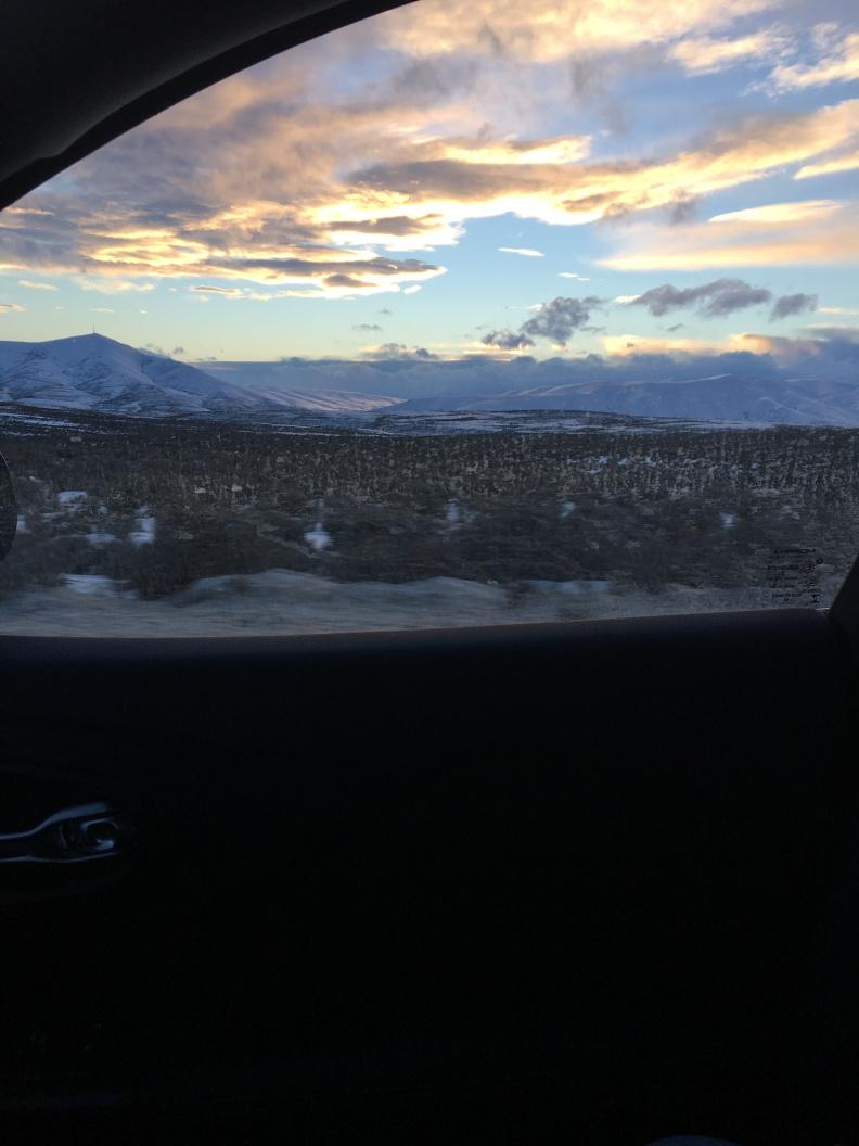 Traveling alone in East Washington